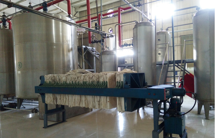 corn glucose syrup production machine