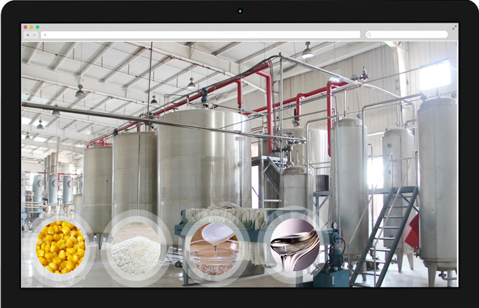 Complete set stainless steel rice glucose syrup production equipment