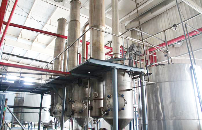Corn glucose syrup processing line