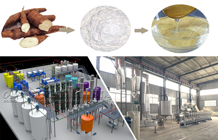 Cassava glucose syrup production line
