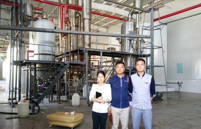 Complete equipment of glucose syrup processing plant