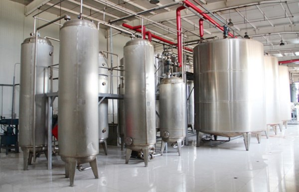 glucose syrup production plant