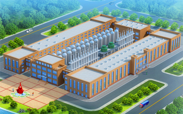 glucose syrup production factory