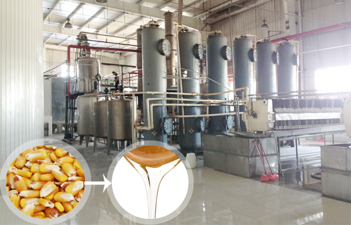 Corn syrup plant