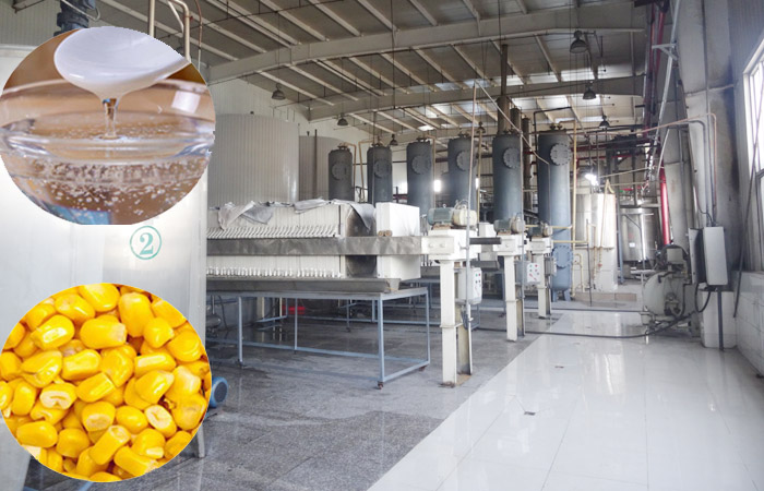 High fructose corn syrup processing