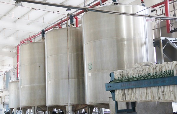 corn syrup processing equipment