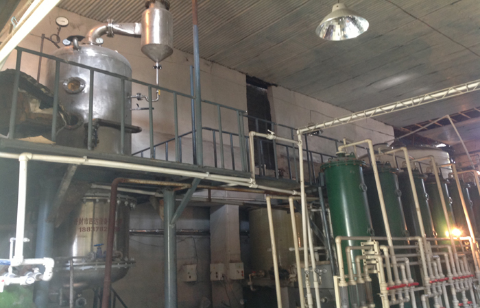 Glucose syrup plant